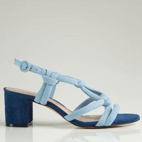 Sandália Neon Azul 34