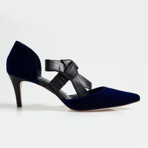 Scarpin Belle Azul 34