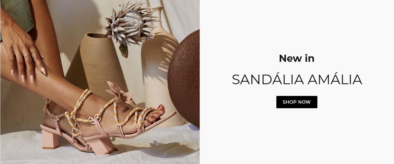 Sandalia amália nude