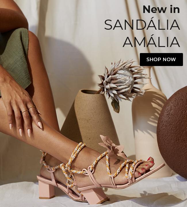 Sandalia aália nude